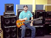 Click to get a closer look at Tim among our selection of bass amplifiers!