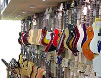 Check out our large selection of acoustic and electric guitars and basses!